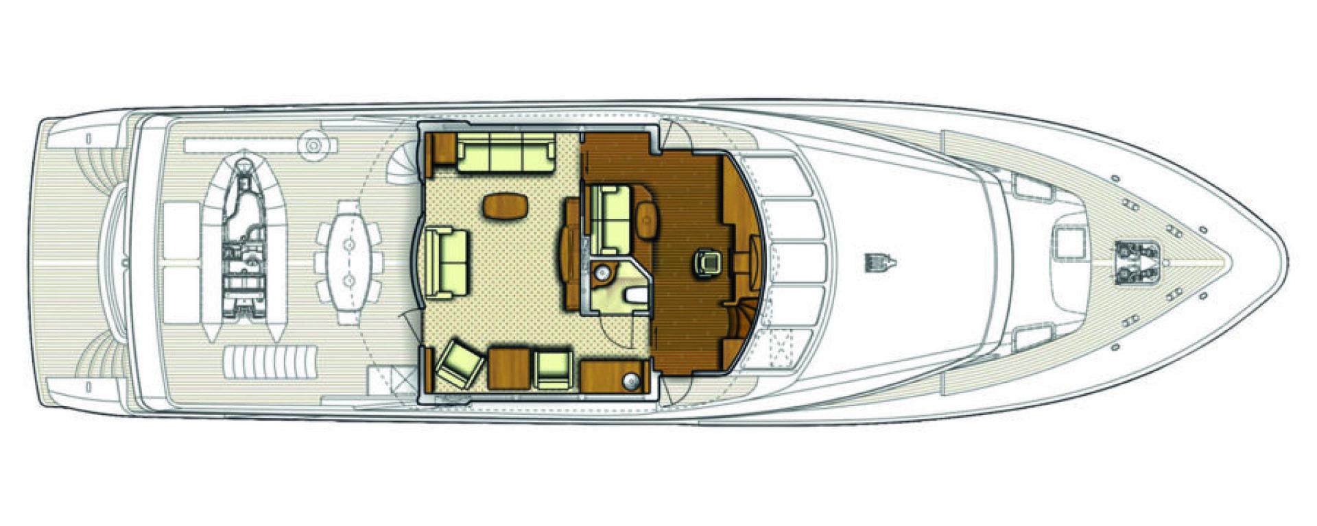 Conrad Shipyard-88 Motor Yacht 2005-Chillin Fort Lauderdale-Florida-United States-Conrad Motor Yacht 2005 Chillin-1537348 | Thumbnail