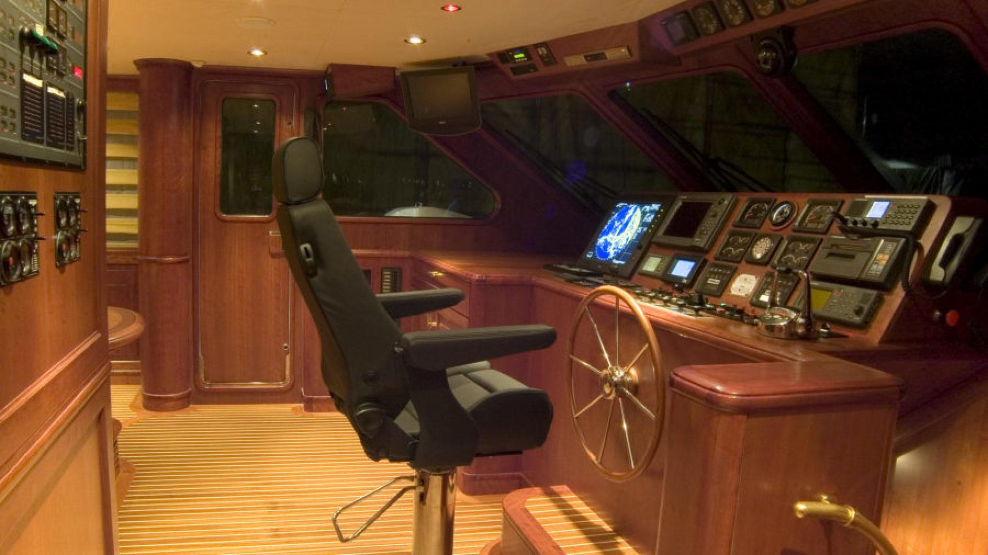 Conrad Shipyard-88 Motor Yacht 2005-Chillin Fort Lauderdale-Florida-United States-Conrad Motor Yacht 2005 Chillin Pilothouse-1537341 | Thumbnail