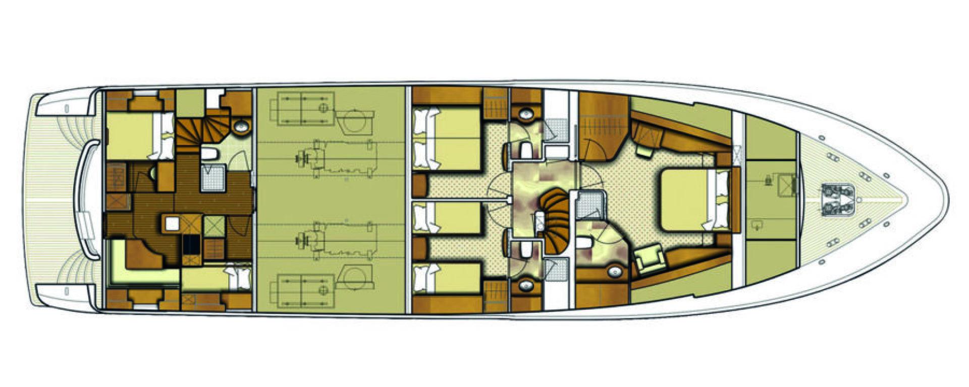 Conrad Shipyard-88 Motor Yacht 2005-Chillin Fort Lauderdale-Florida-United States-Conrad Motor Yacht 2005 Chillin-1537346 | Thumbnail