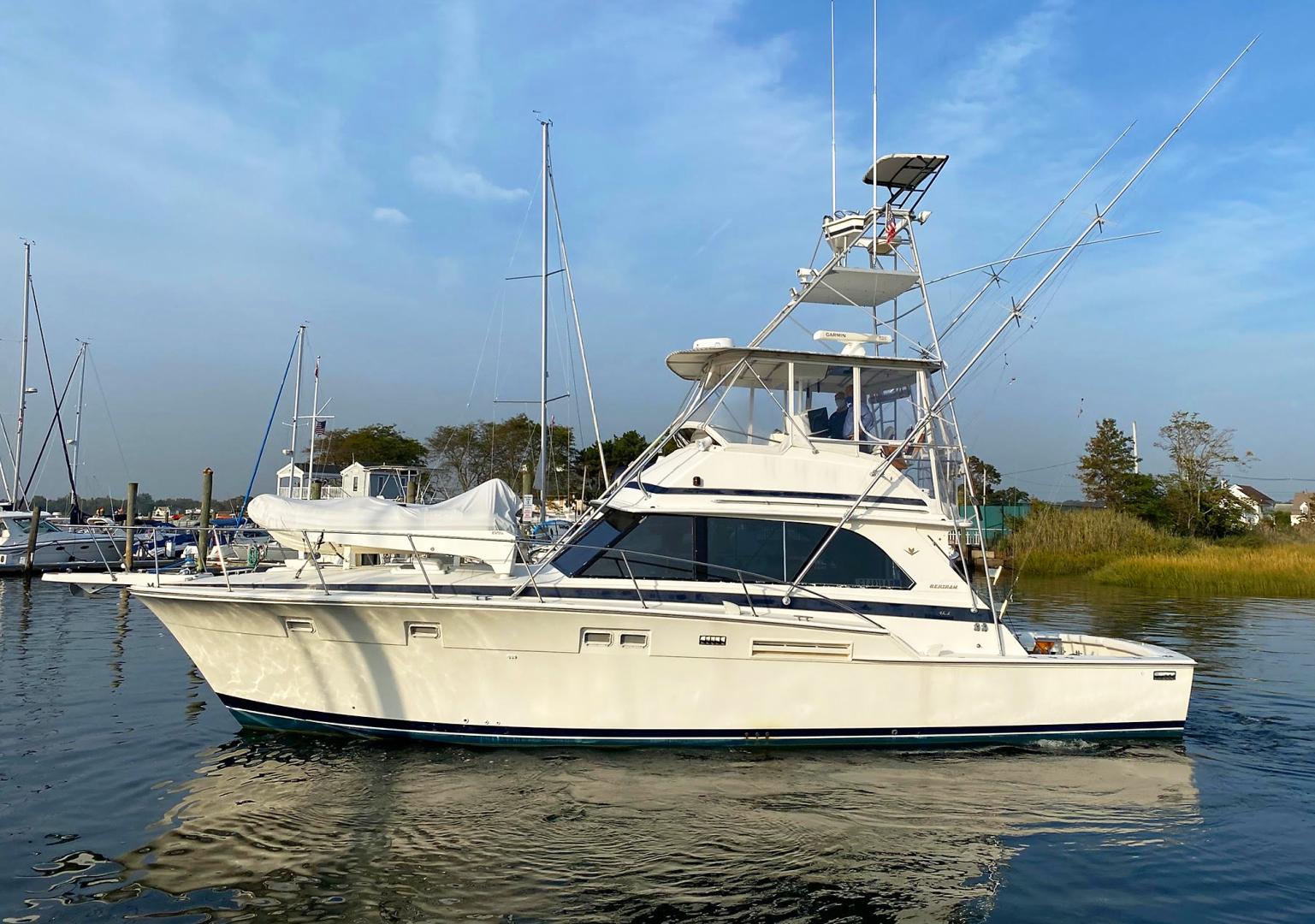 Bertram-46 Convertible  1982-Sea Wings Norwalk -Connecticut-United States-1537439 | Thumbnail