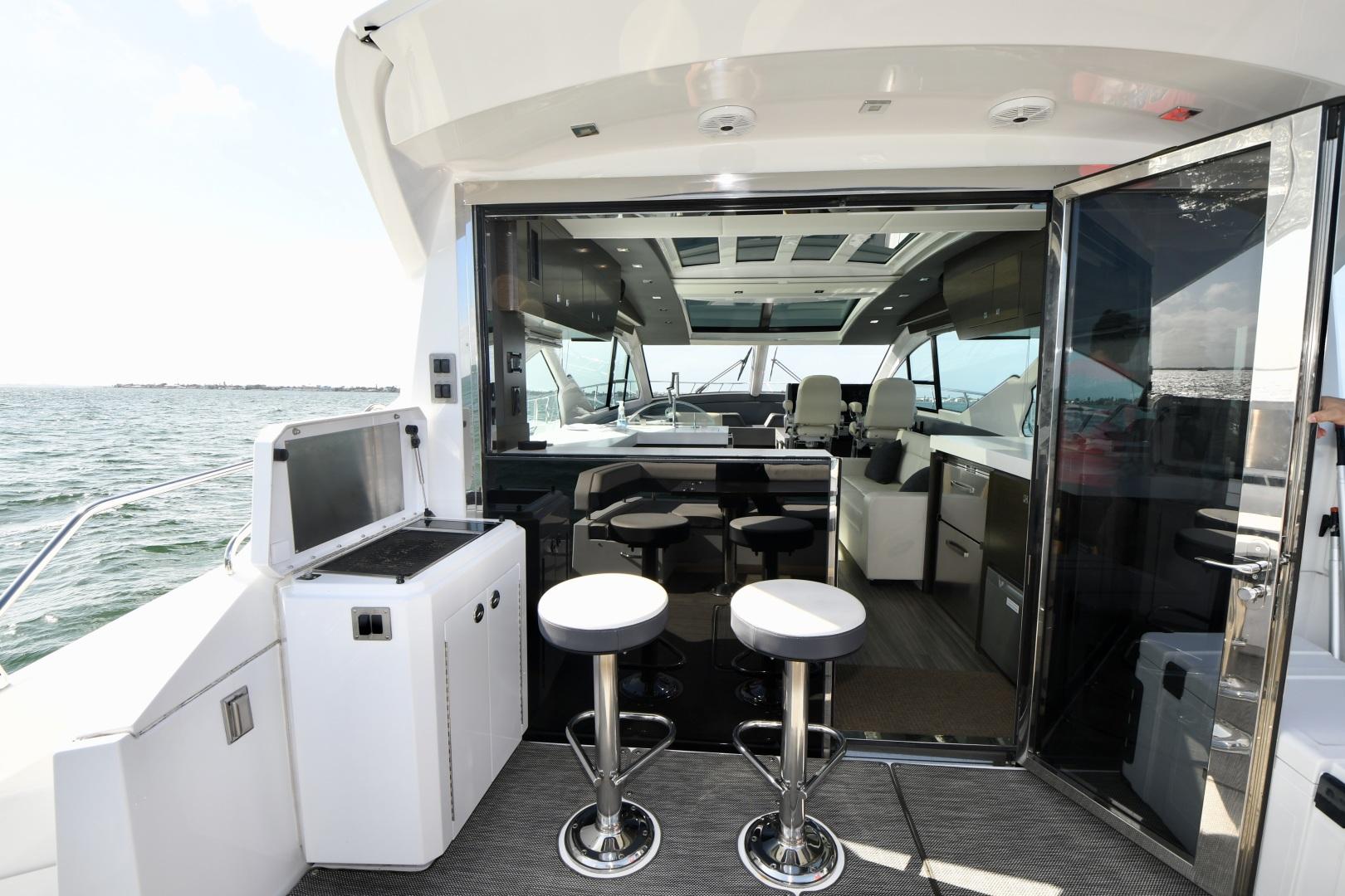 Cruisers-60 Cantius 2017-Mrs. Robinson Anna Maria Island-Florida-United States-2017 Cruisers 60 Cantius  Mrs. Robinson  Cockpit Wetbar-1538490 | Thumbnail