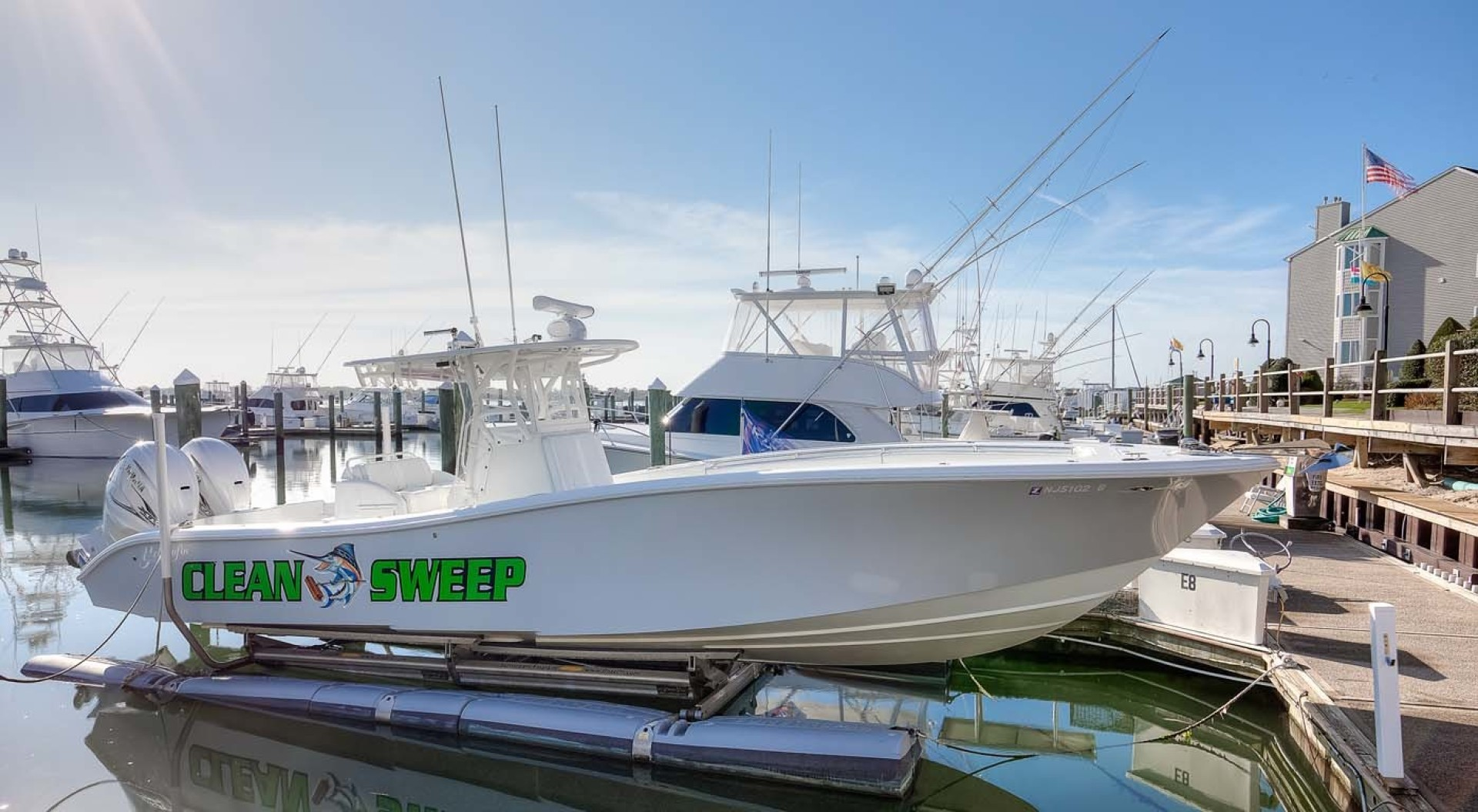 Yellowfin-Center Console 2009-Clean Sweep Cape May-New Jersey-United States-Main -1538537 | Thumbnail