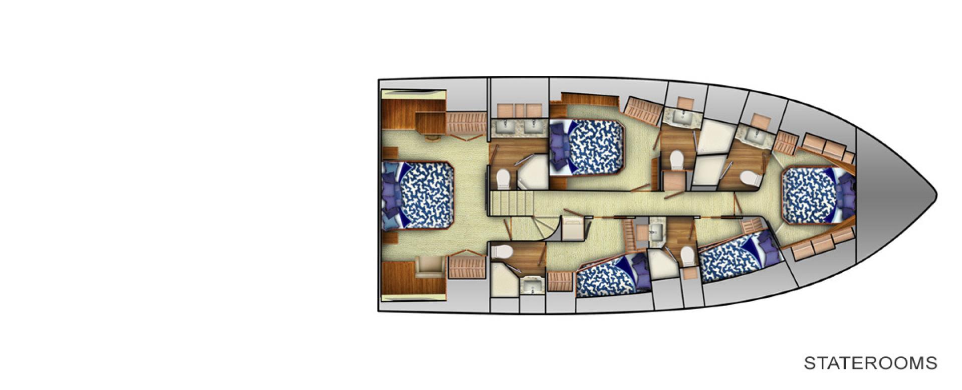 Viking 80 - Stateroom Layout