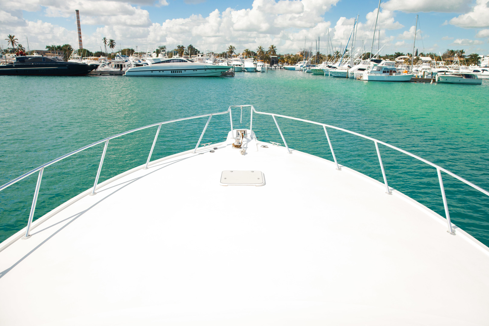 Ocean Yachts 2001 -Santo Domingo-Dominican Republic-Bow-1538736   Thumbnail