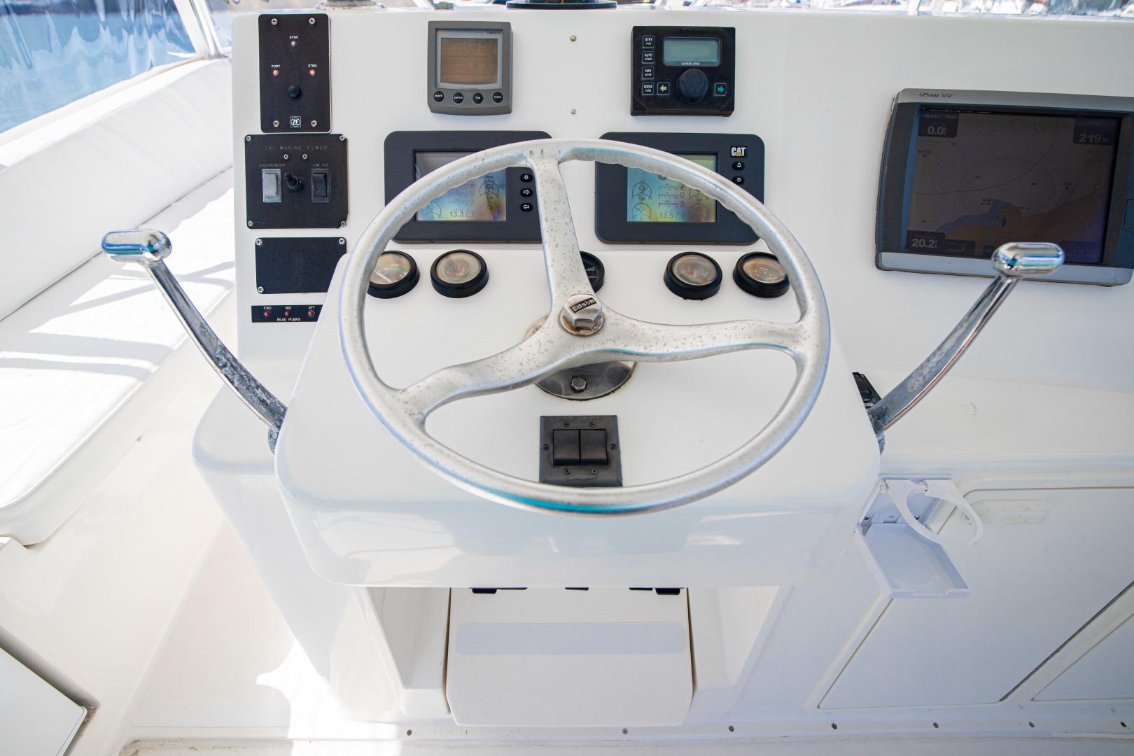 Ocean Yachts 2001 -Santo Domingo-Dominican Republic-Helm-1538744   Thumbnail