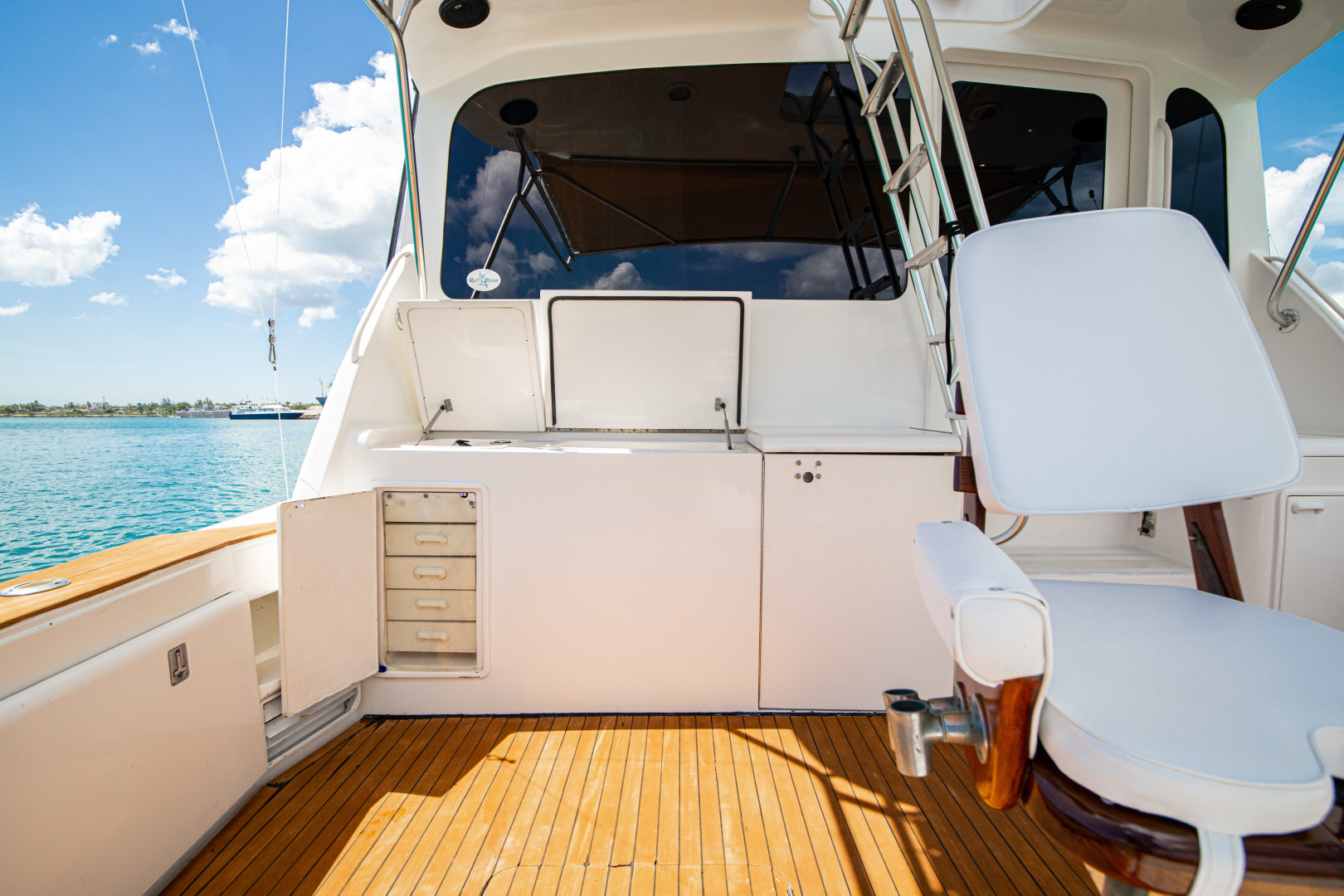 Ocean Yachts 2001 -Santo Domingo-Dominican Republic-Aft Deck-1538730   Thumbnail