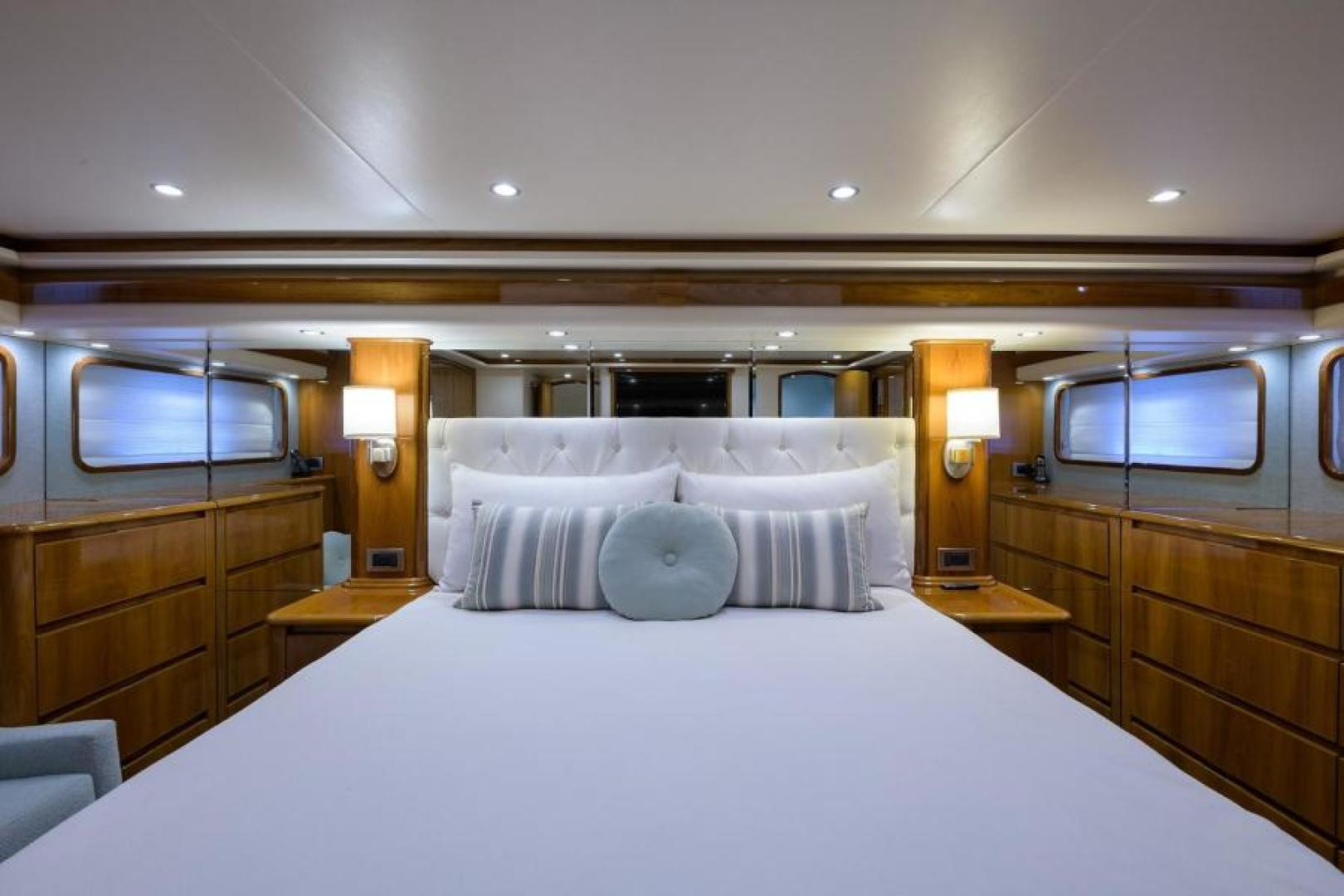 Viking-76 Enclosed Bridge 2014-OSH IT Fort Lauderdale-Florida-United States-Master Stateroom-1539905 | Thumbnail