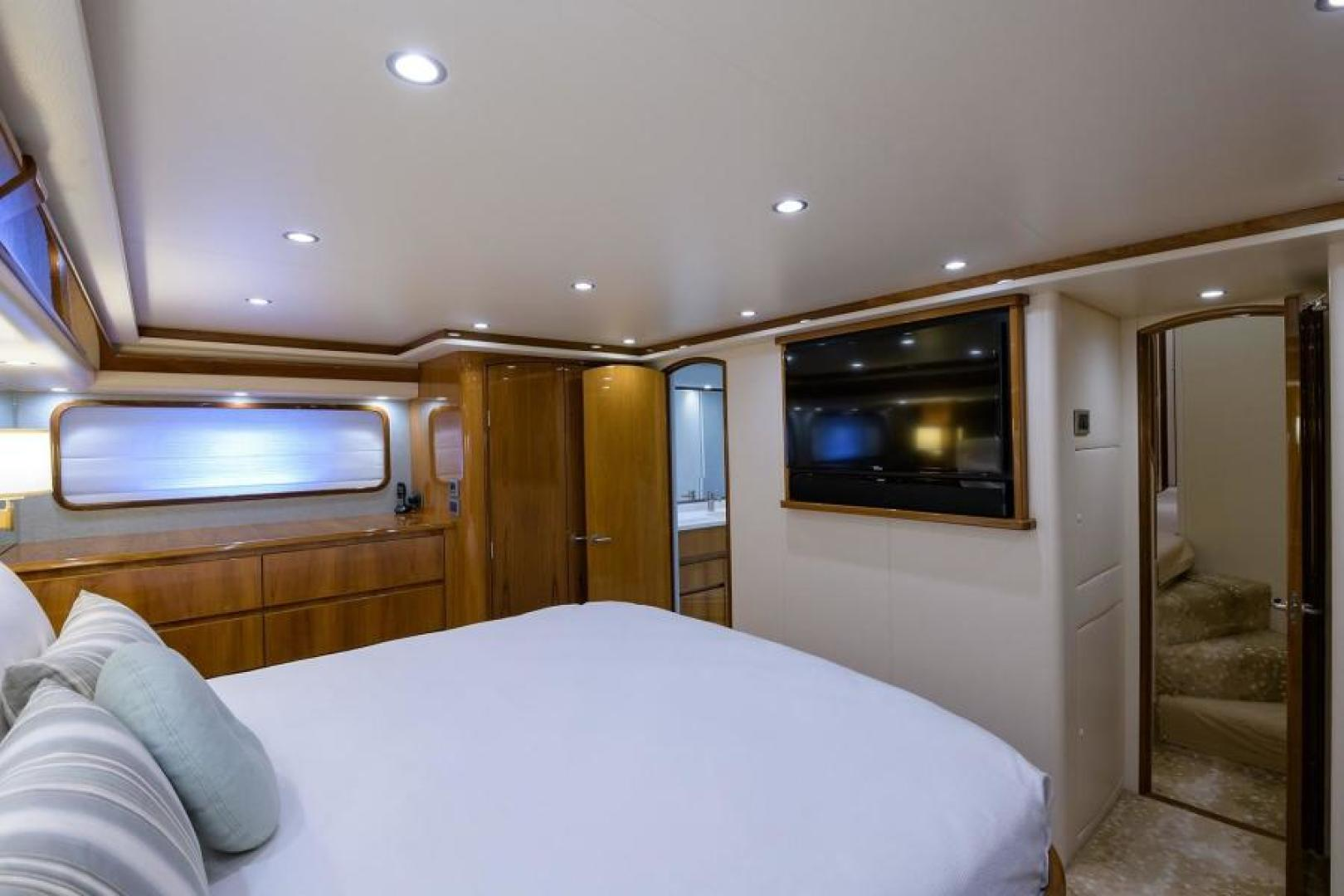 Viking-76 Enclosed Bridge 2014-OSH IT Fort Lauderdale-Florida-United States-Master Stateroom-1539904 | Thumbnail