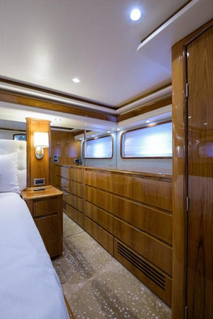 Viking-76 Enclosed Bridge 2014-OSH IT Fort Lauderdale-Florida-United States-Master Stateroom-1539908 | Thumbnail