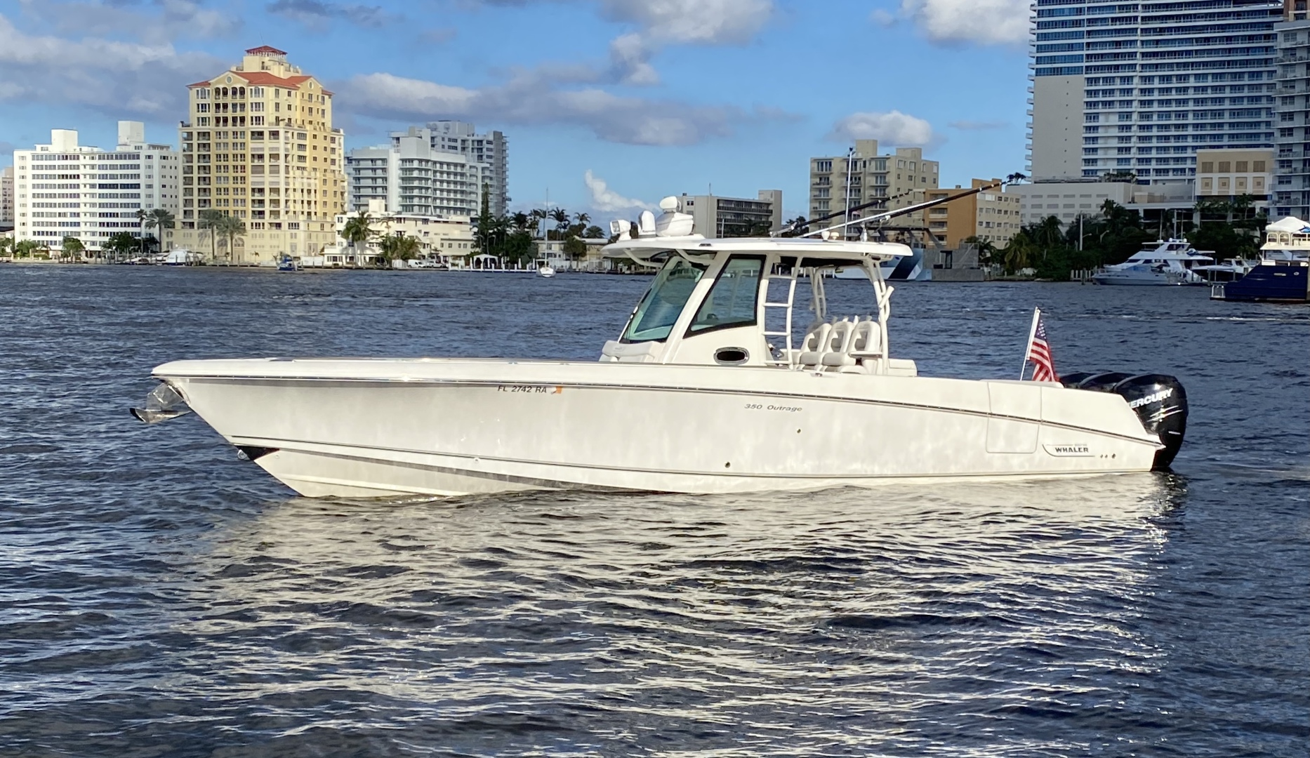 Boston Whaler-350 Outrage 2015-D STRACTION Fort Lauderdale-Florida-United States-1560891   Thumbnail