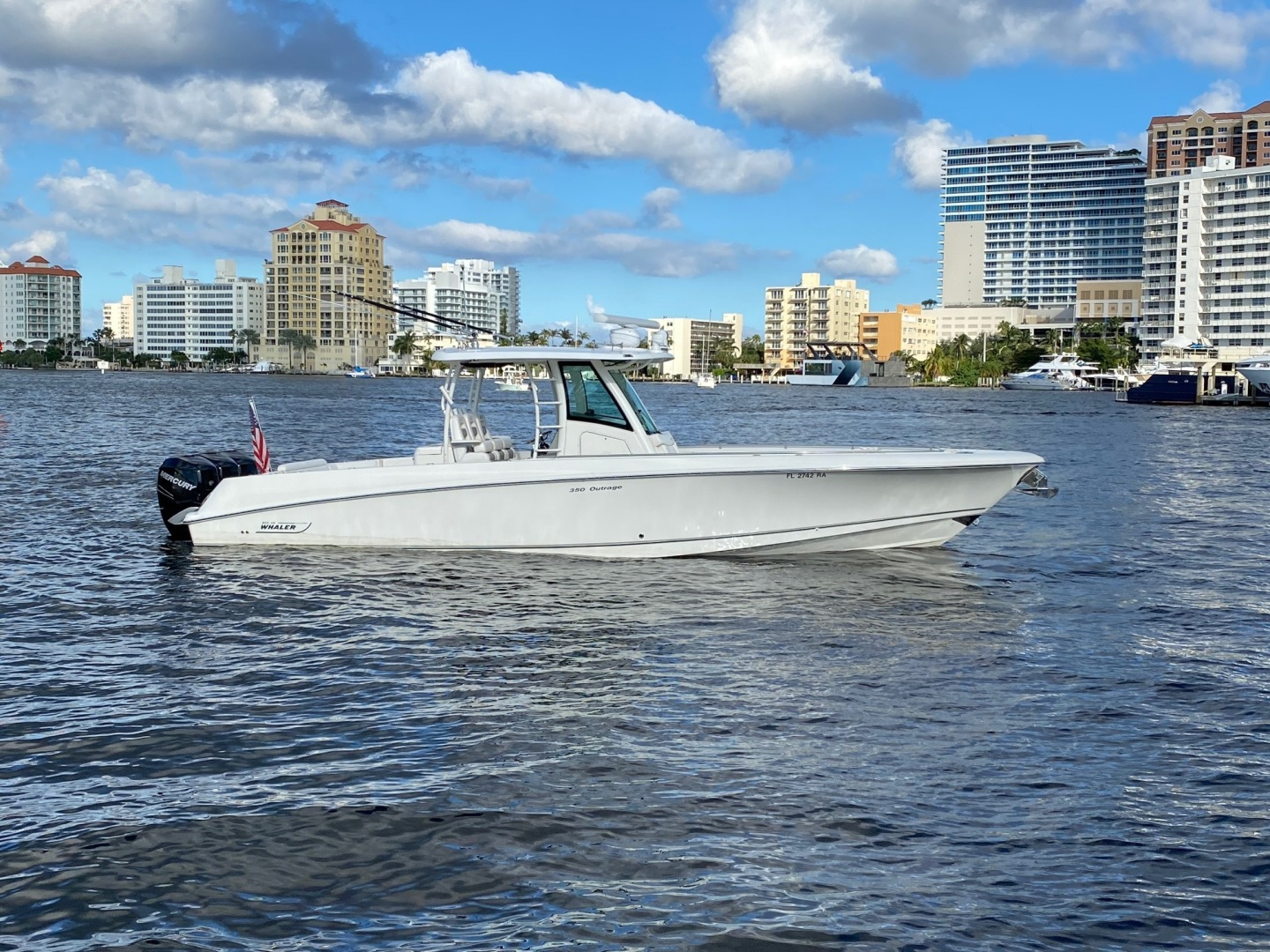 Boston Whaler-350 Outrage 2015-D STRACTION Fort Lauderdale-Florida-United States-1560922   Thumbnail