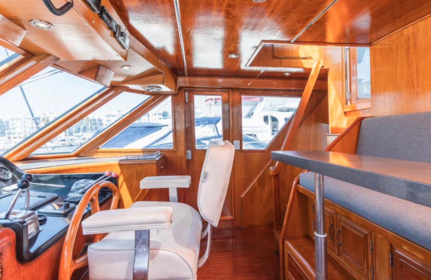 Ocean Alexander-Pilothouse 1990-Liviathan Marina Del Rey-United States-1541507 | Thumbnail