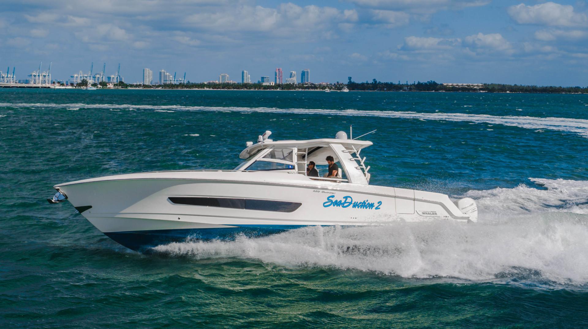 Boston Whaler-Outrage 2016-Sea Duction Miami Beach -Florida-United States-1557378 | Thumbnail