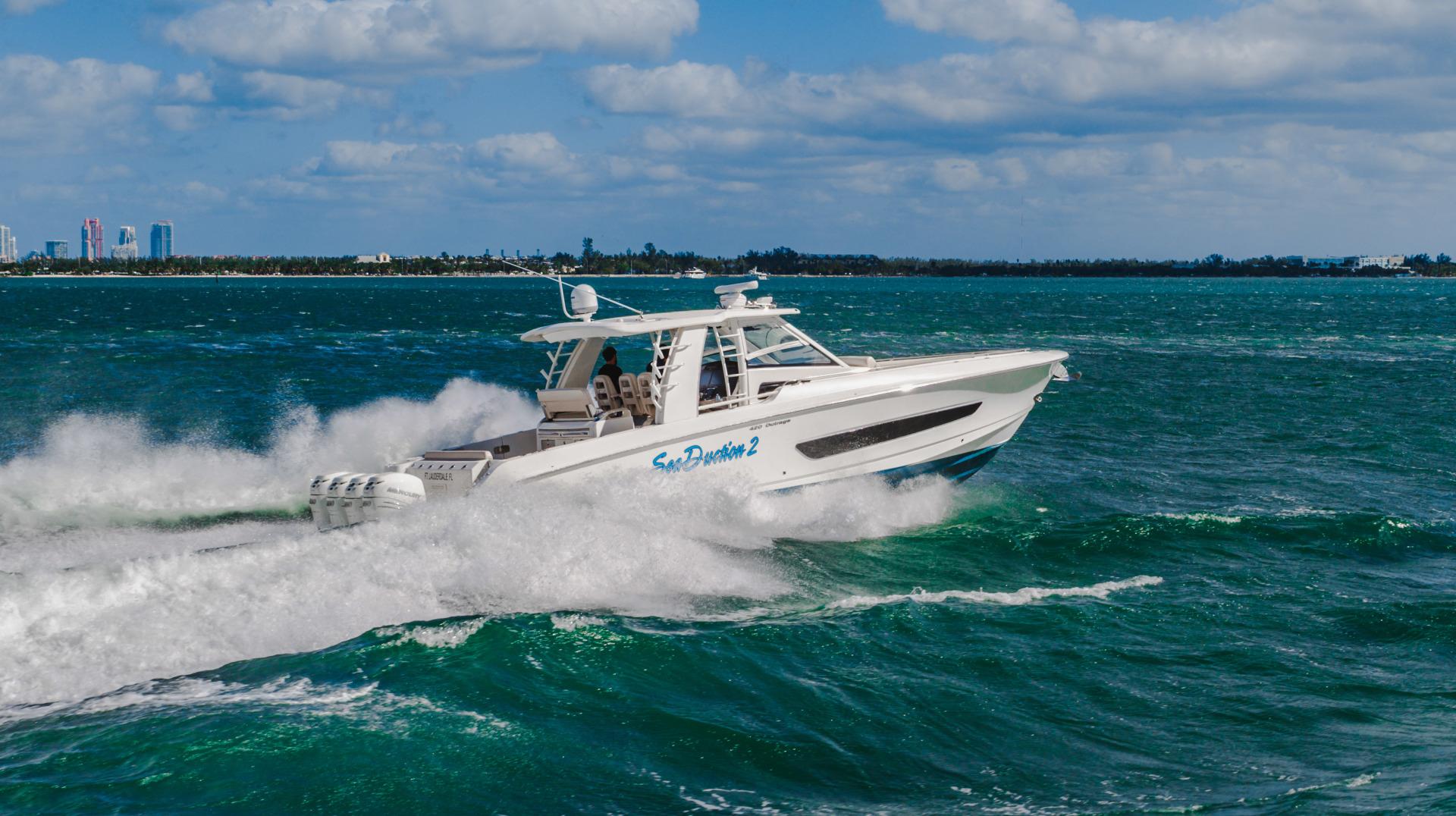 Boston Whaler-Outrage 2016-Sea Duction Miami Beach -Florida-United States-1557375 | Thumbnail