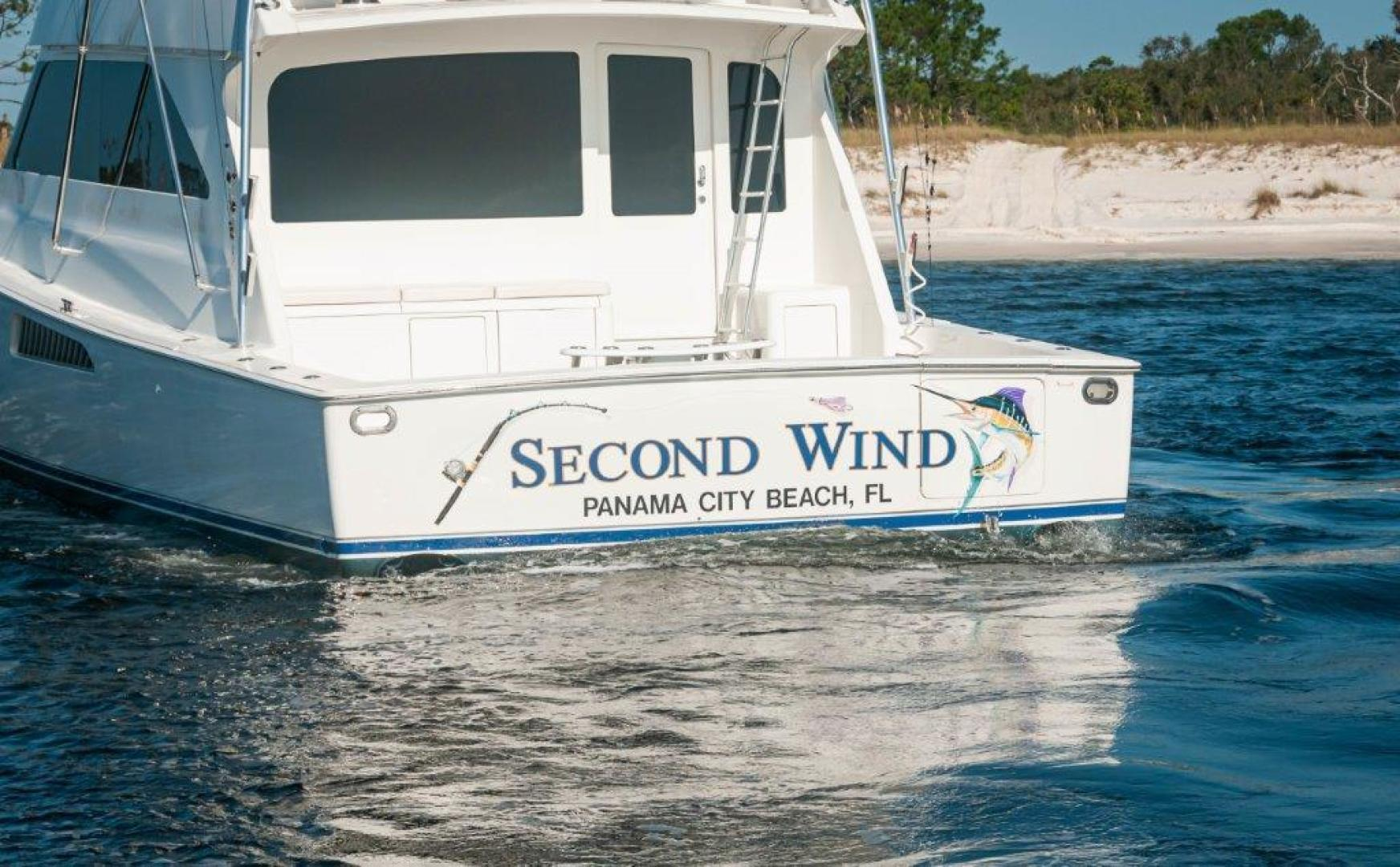 Viking-61 Convertible 2004-Second Wind Panama City Beach-Florida-United States-2004 61 Viking Convertible Second Wind Transom (1)-1545121 | Thumbnail
