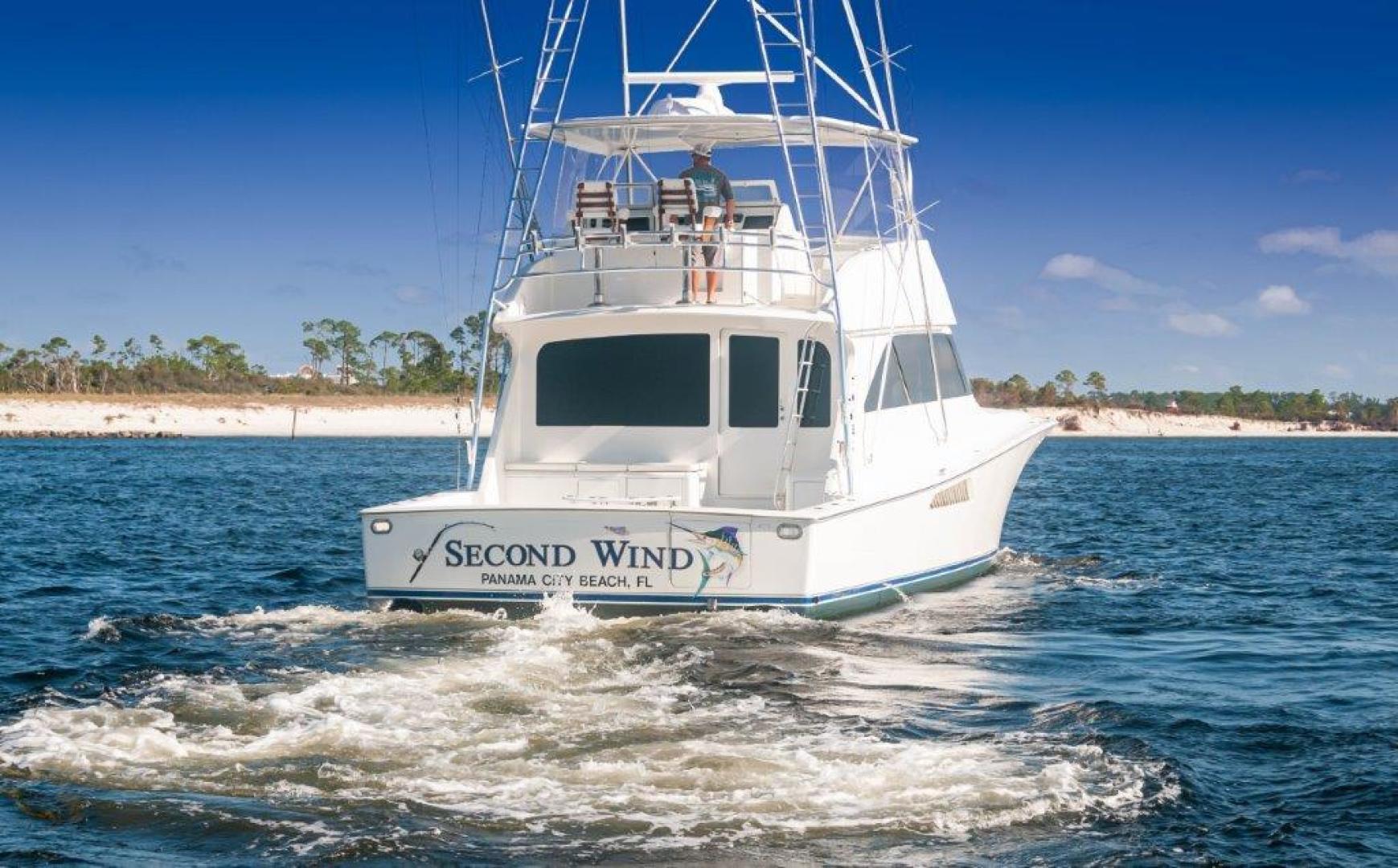 Viking-61 Convertible 2004-Second Wind Panama City Beach-Florida-United States-2004 61 Viking Convertible Second Wind Transom (2)-1545122 | Thumbnail
