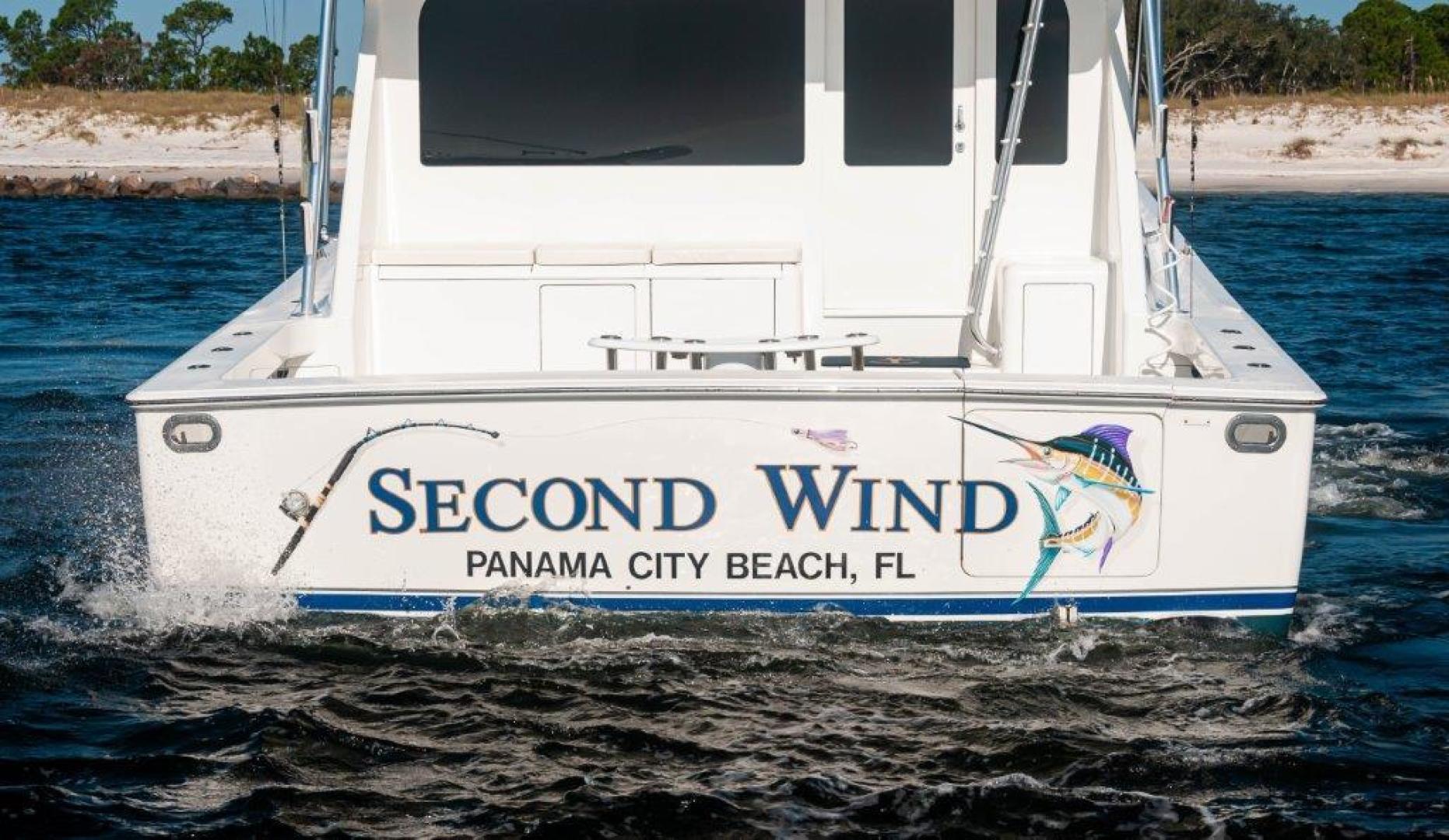 Viking-61 Convertible 2004-Second Wind Panama City Beach-Florida-United States-2004 61 Viking Convertible Second Wind Transom (3)-1545123 | Thumbnail