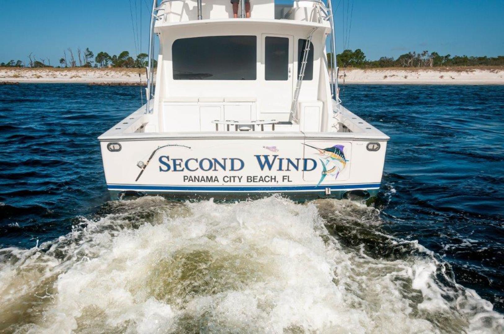 Viking-61 Convertible 2004-Second Wind Panama City Beach-Florida-United States-2004 61 Viking Convertible Second Wind Transom (4)-1545124 | Thumbnail