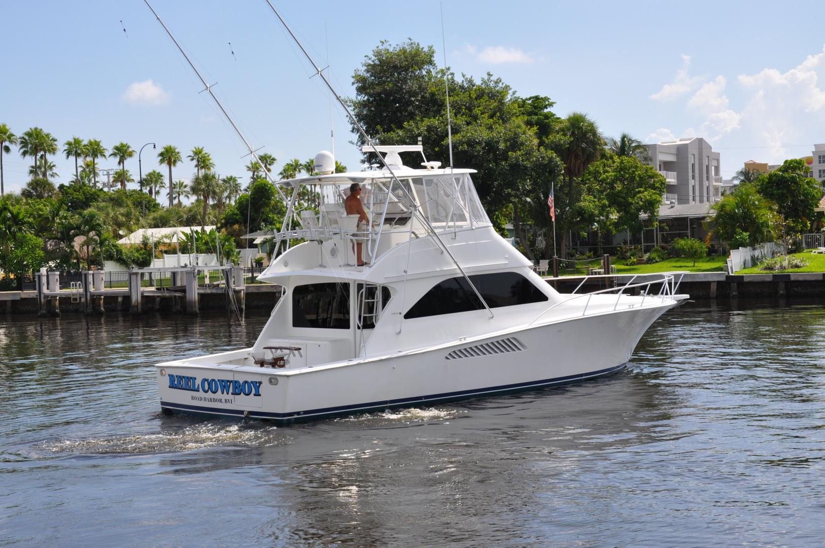 Viking-Convertible 2003-Reel Cowboy Deerfield Beach-Florida-United States-Stern Profile-1546864 | Thumbnail