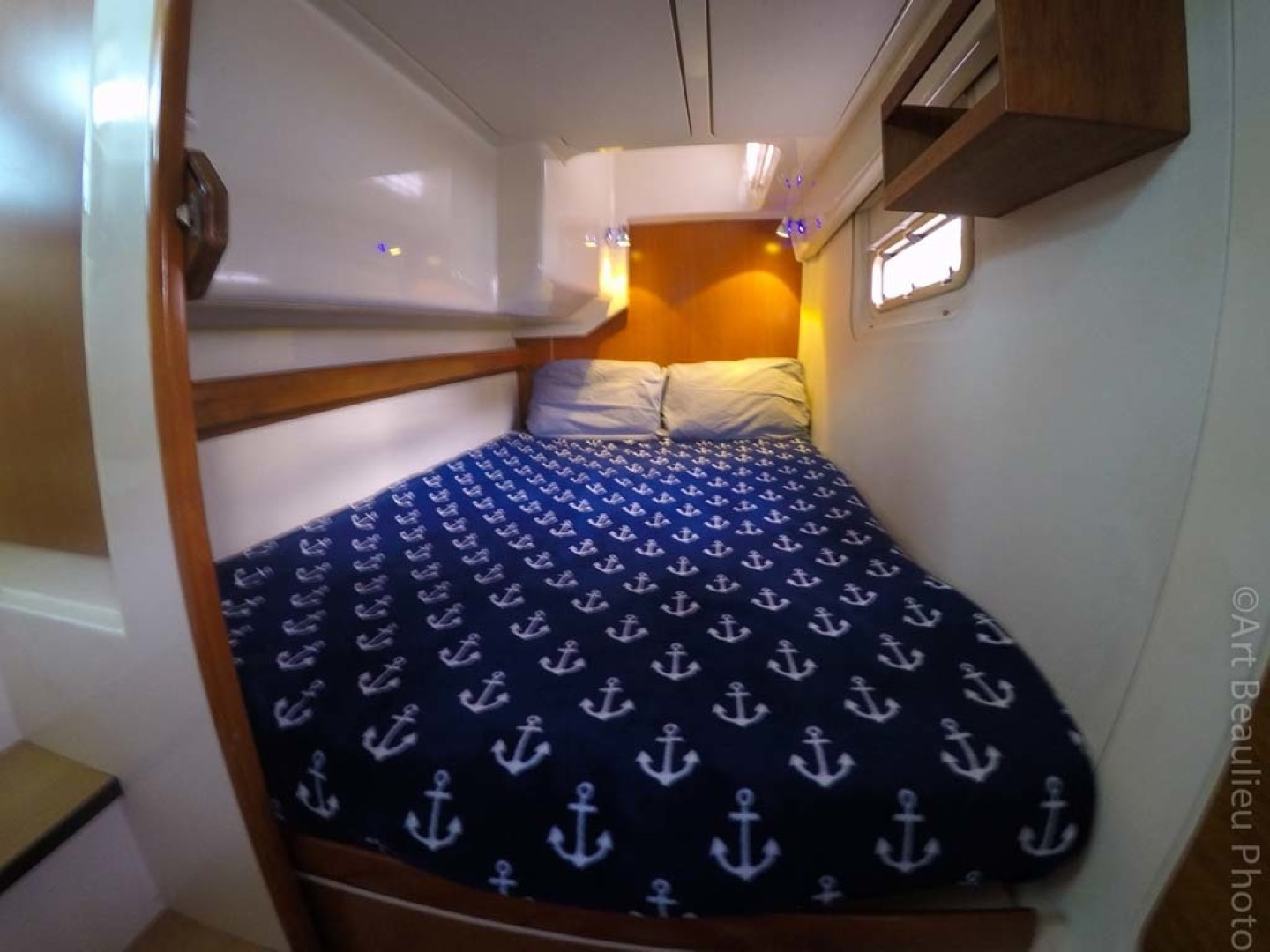Leopard-37 PC 2008-Even Keel Cocoa Beach-Florida-United States-Master Double Berth-1546913 | Thumbnail