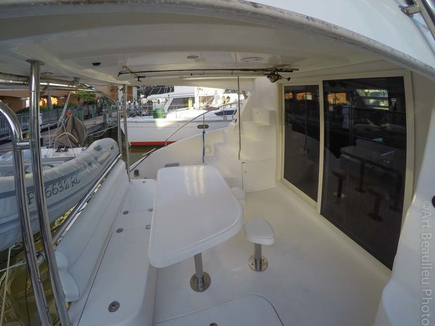 Leopard-37 PC 2008-Even Keel Cocoa Beach-Florida-United States-Aft Deck Looking Port-1546928 | Thumbnail