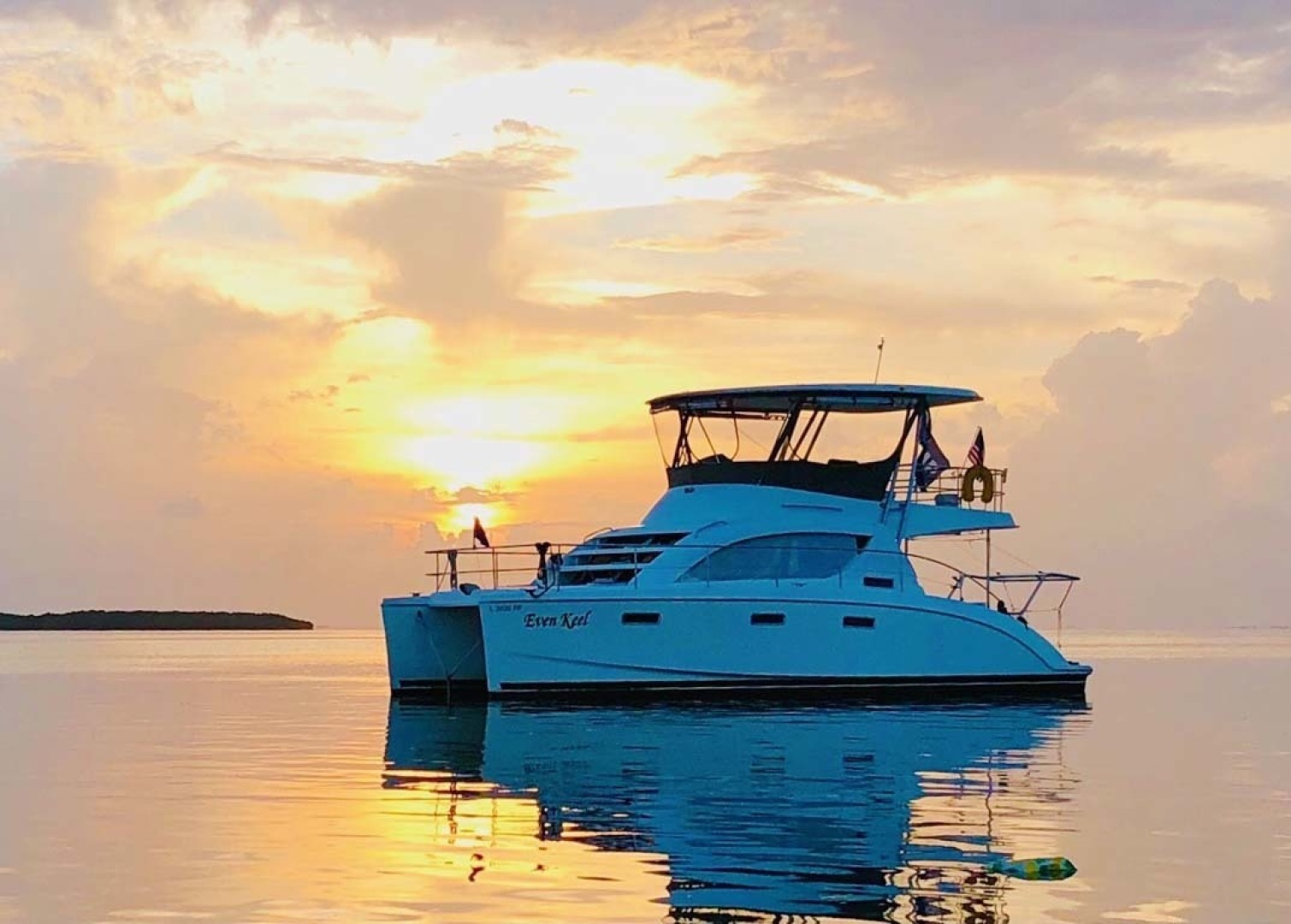 Leopard-37 PC 2008-Even Keel Cocoa Beach-Florida-United States-Profile At Sunset-1546894 | Thumbnail