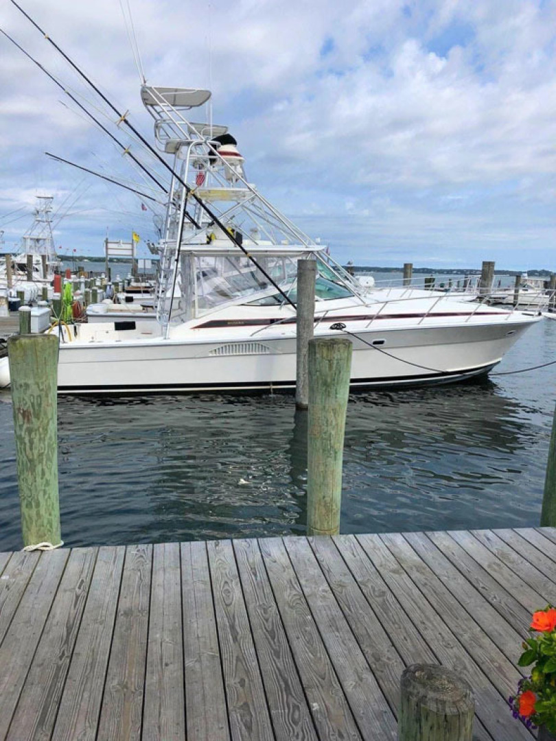 Riviera-4000 Express 2001-Shady Lady Hampton Bays-New York-United States-Starboard Profile-1547584 | Thumbnail