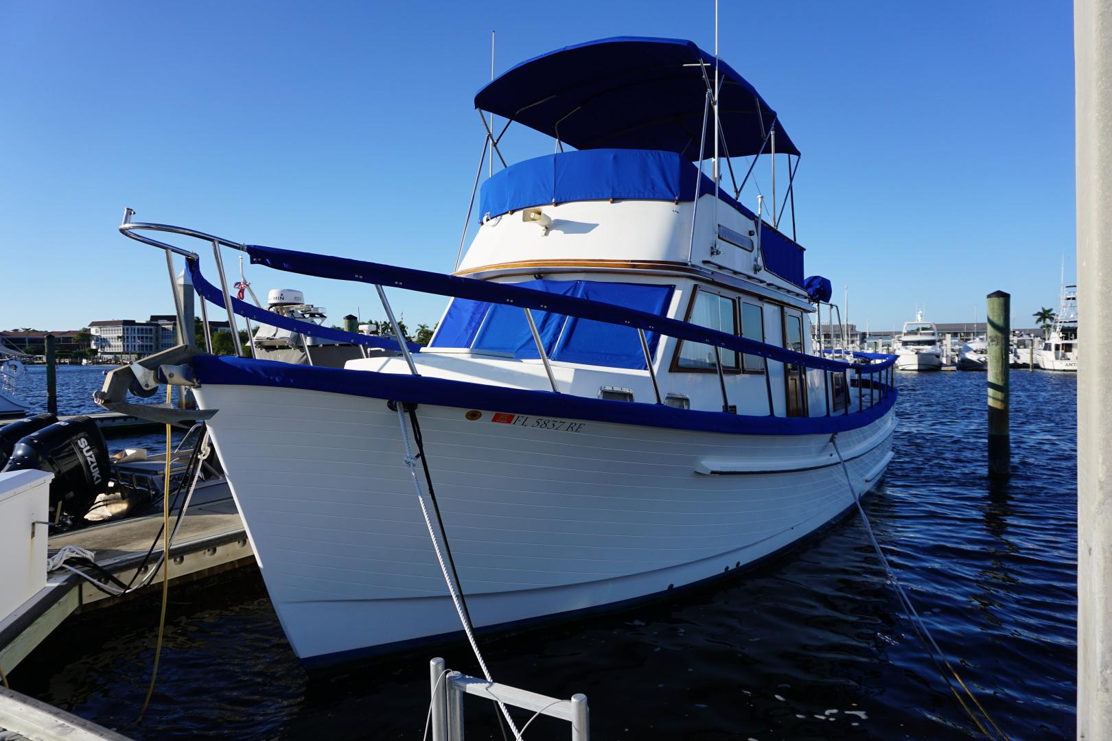 Monk-36 Trawler 1985-In Vino Veritas Naples-Florida-United States-1571252 | Thumbnail