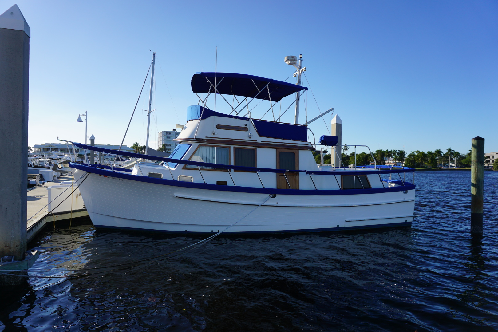Monk-36 Trawler 1985-In Vino Veritas Naples-Florida-United States-DSC02107-1571248 | Thumbnail