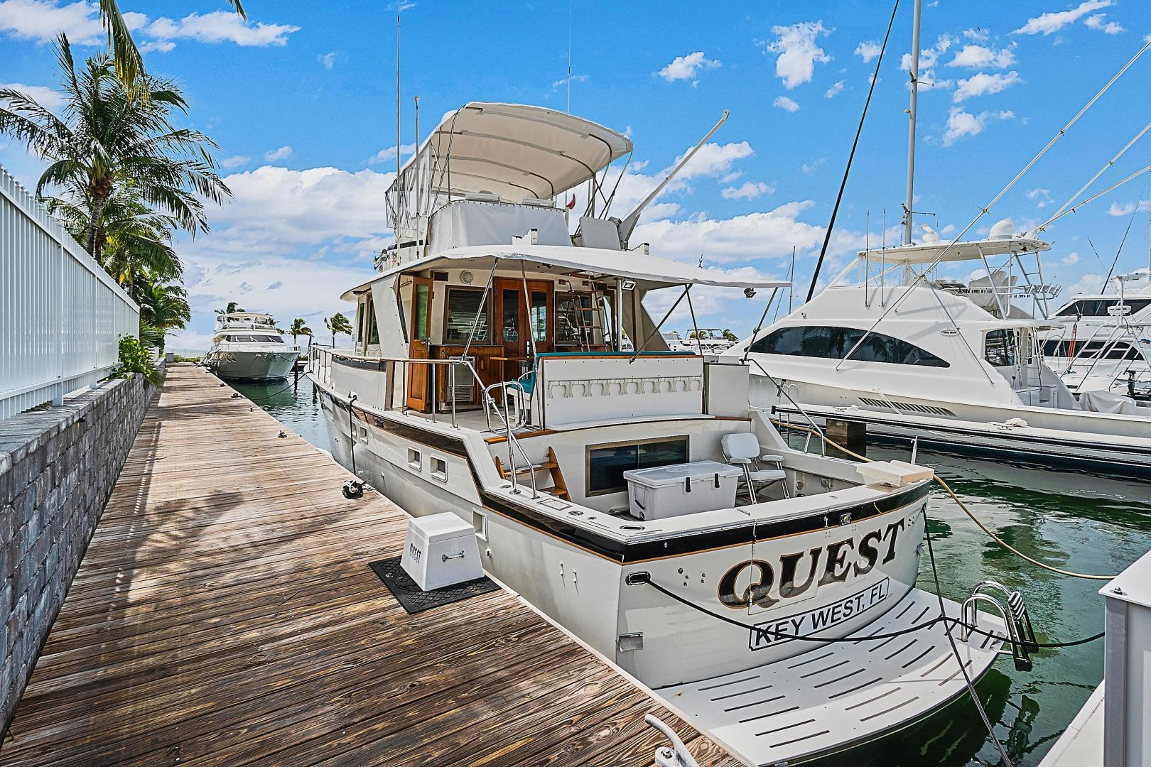 Hatteras-CPMY 1979-Quest Key west-Florida-United States-1548929 | Thumbnail