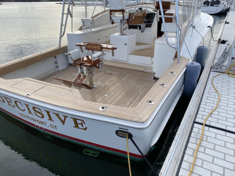 Jersey Cape-36 Devil 2005-Decisive Bridgeport-Connecticut-United States-Stern and Cockpit-1550742 | Thumbnail