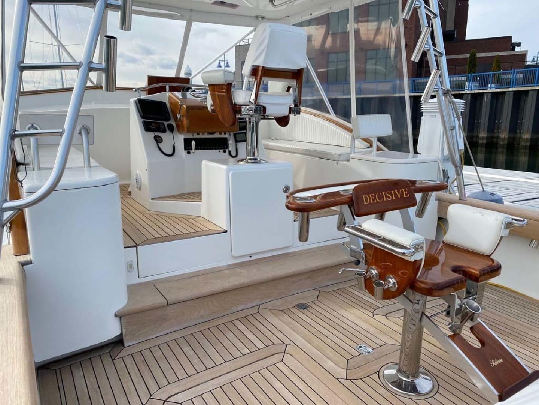 Jersey Cape-36 Devil 2005-Decisive Bridgeport-Connecticut-United States-Cockpit, Fighting Chair, Helm Deck-1549129 | Thumbnail