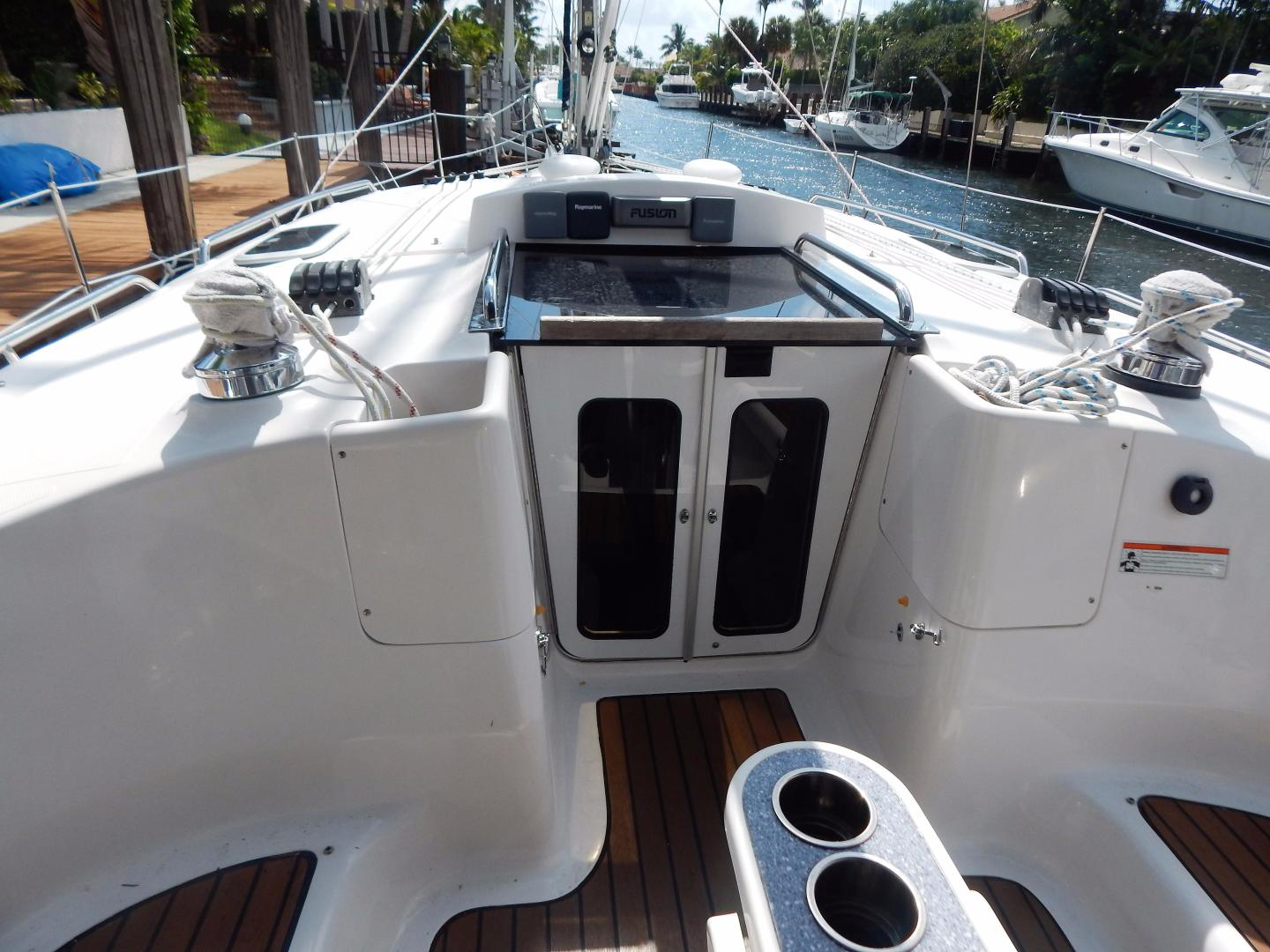 Hunter-Deck Salon 2012-PINK PONY SAILS Fort Lauderdale-Florida-United States-1549231 | Thumbnail