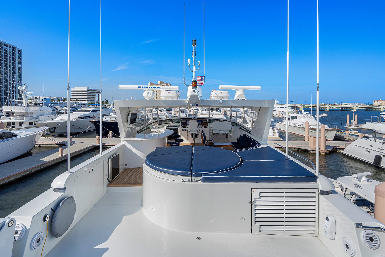 Westport-Raised Pilothouse 2001-Risk & Reward Lighthouse Point-Florida-United States-Upper Deck Lounge-1549816   Thumbnail