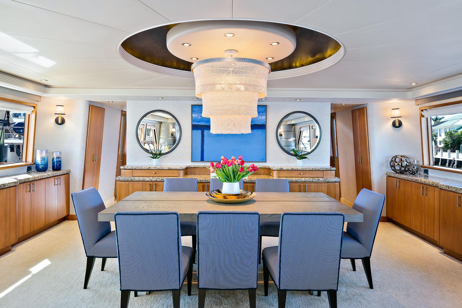 Westport-Raised Pilothouse 2001-Risk & Reward Lighthouse Point-Florida-United States-Dining Area-1549837   Thumbnail