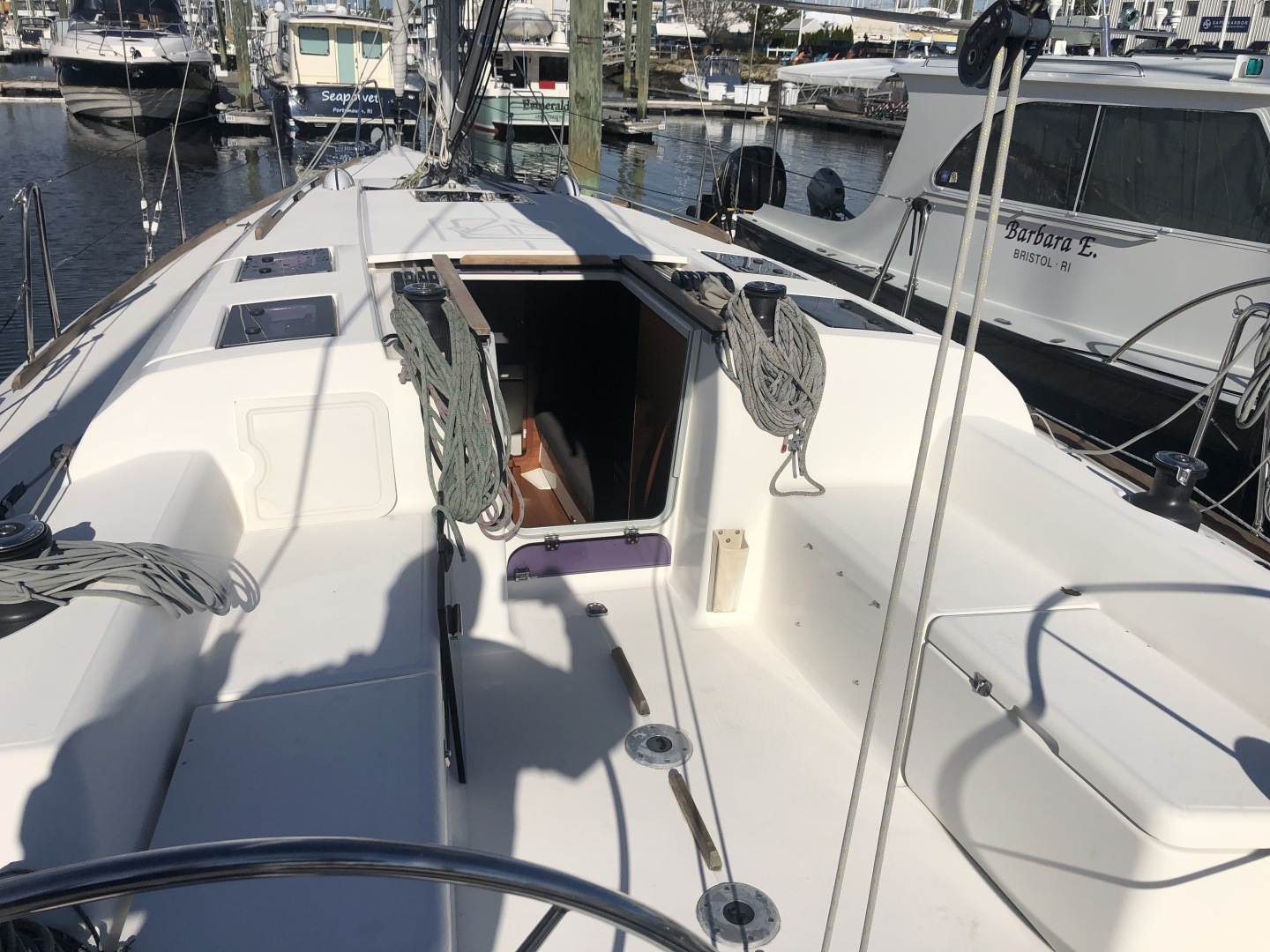 Dufour-36 P 2014 -Portsmouth-Rhode Island-United States-Cockpit-1551075 | Thumbnail