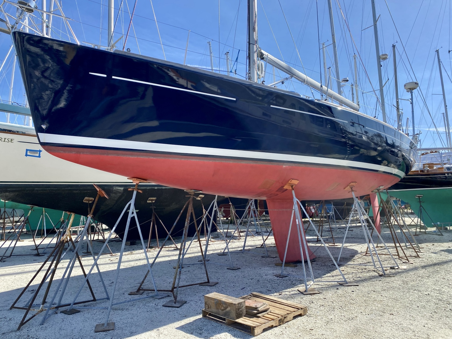 Beneteau-First 47.7 2004 -Portsmouth-Rhode Island-United States-On the Hard for winter-1551516 | Thumbnail