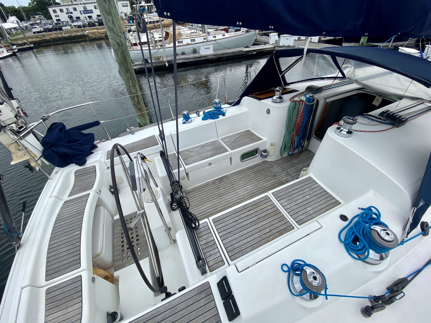 Beneteau-First 47.7 2004 -Portsmouth-Rhode Island-United States-Cockpit-1551513 | Thumbnail