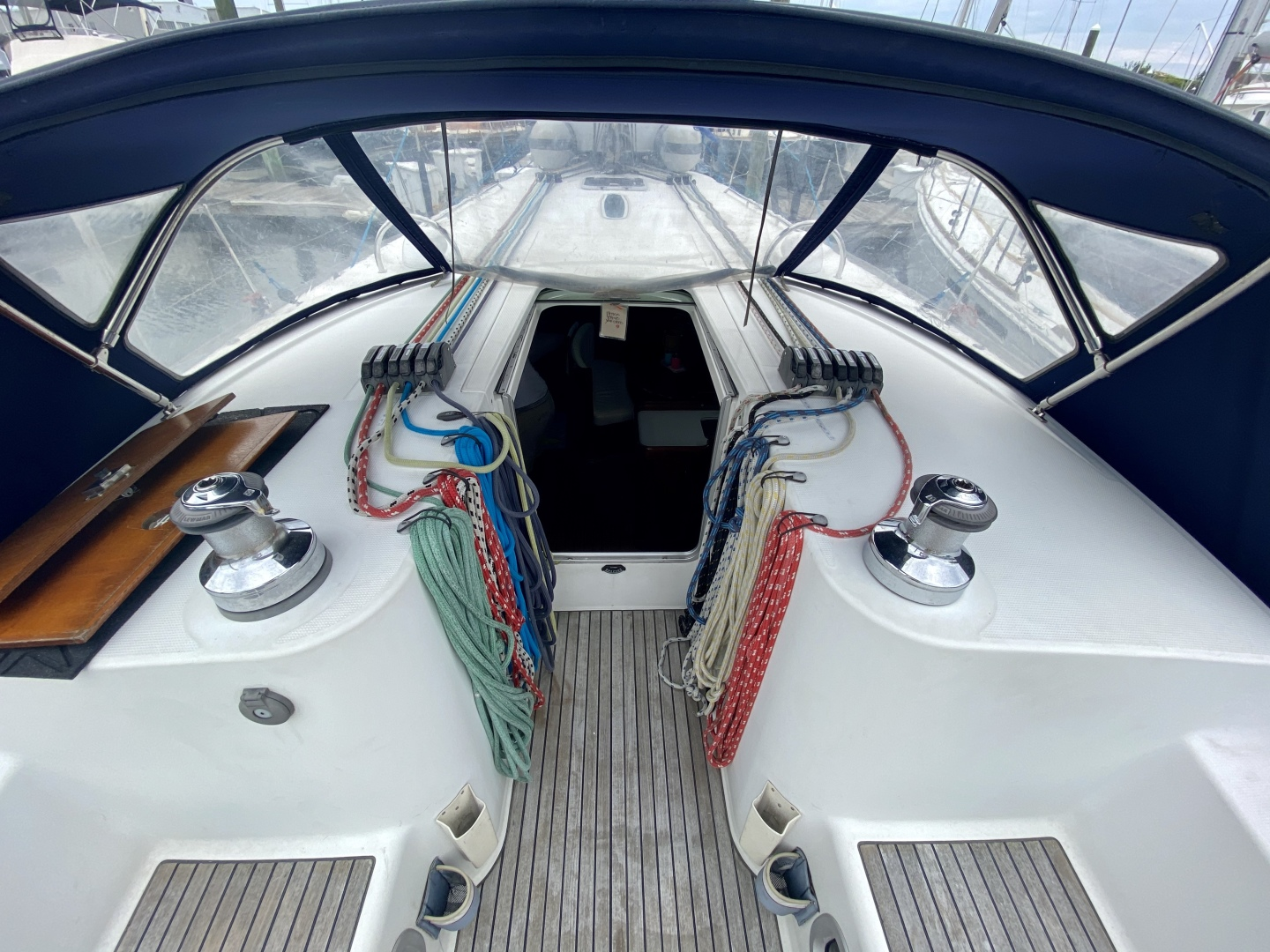 Beneteau-First 47.7 2004 -Portsmouth-Rhode Island-United States-Companionway-1551512 | Thumbnail