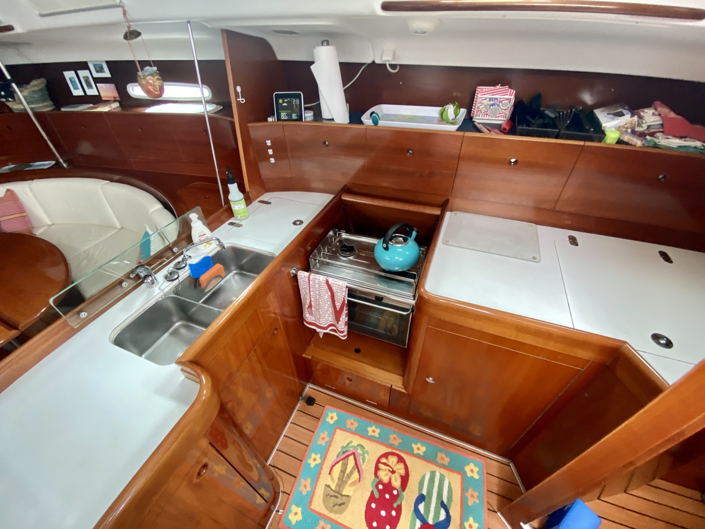 Beneteau-First 47.7 2004 -Portsmouth-Rhode Island-United States-Galley-1551508 | Thumbnail