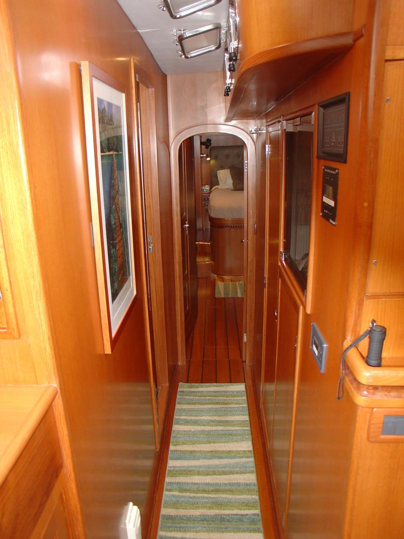 Hylas-70 Centerboard Cruiser 2007-AMANTE Barcelona-Spain-Passageway Aft-1555657   Thumbnail