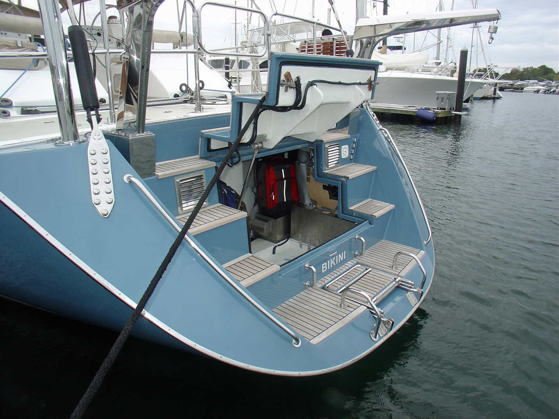 Hylas-70 Centerboard Cruiser 2007-AMANTE Barcelona-Spain-Transom Garage-1555670   Thumbnail