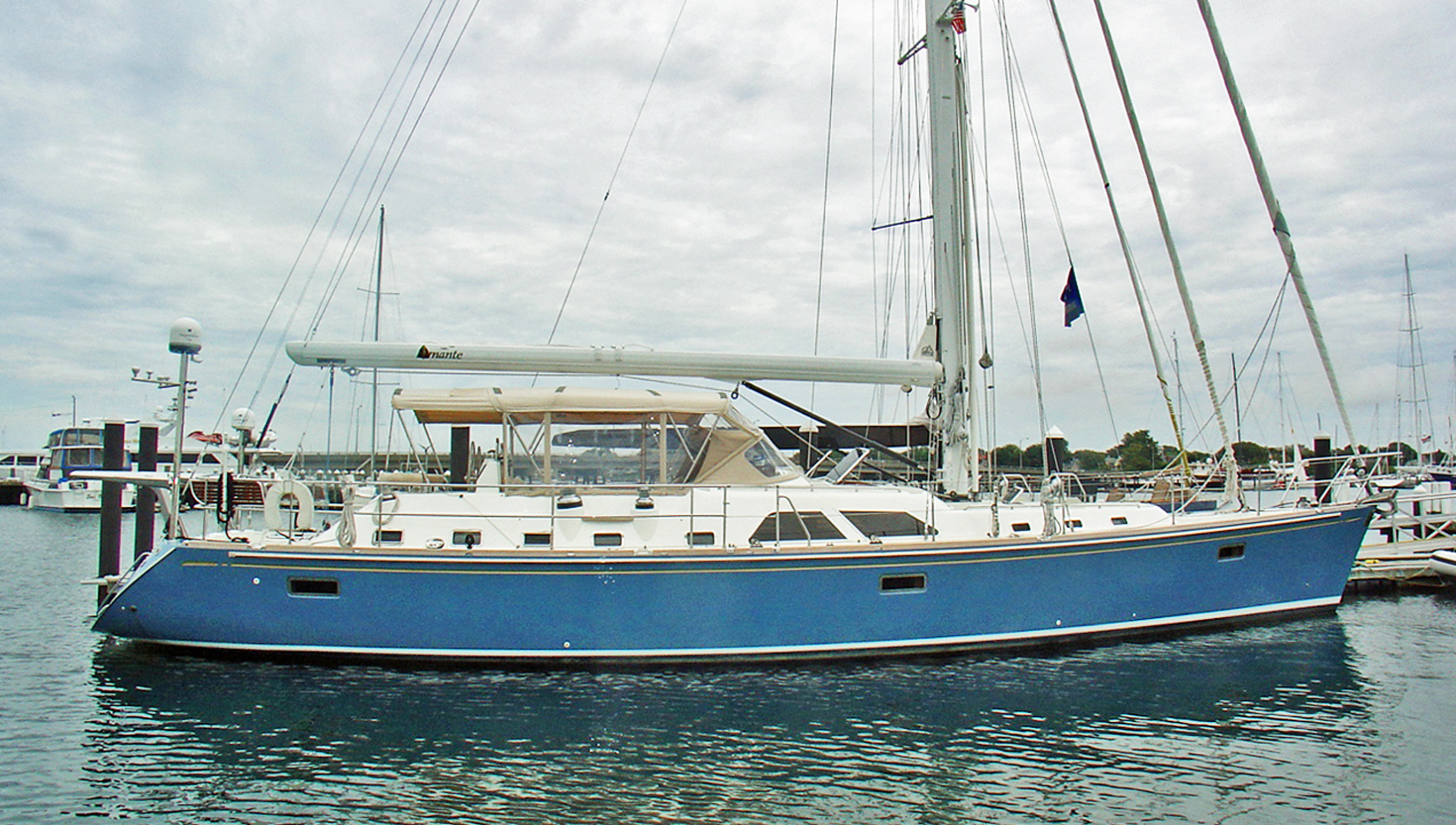 Hylas-70 Centerboard Cruiser 2007-AMANTE Barcelona-Spain-Profile-1555662   Thumbnail