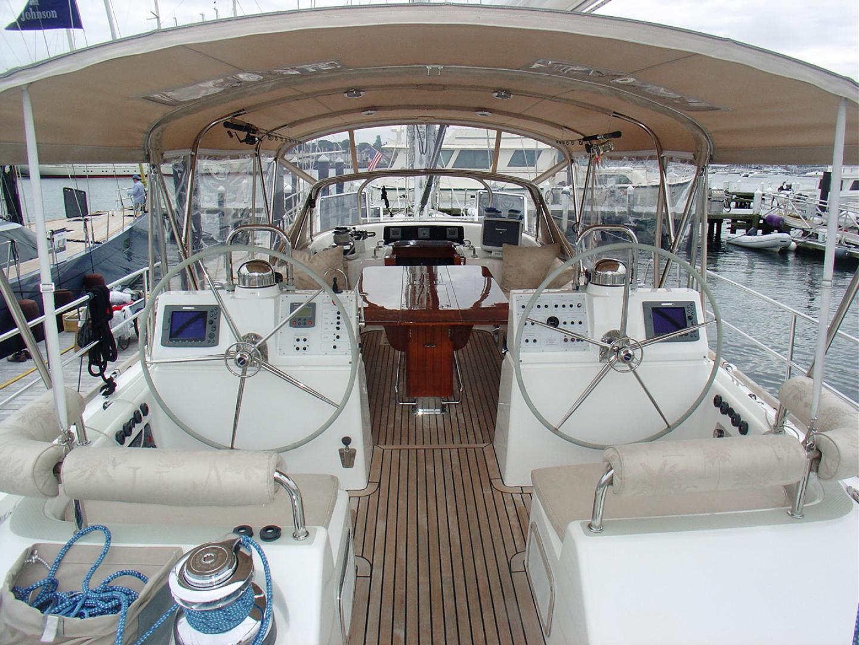 Hylas-70 Centerboard Cruiser 2007-AMANTE Barcelona-Spain-Twin Pedestals-1555671   Thumbnail