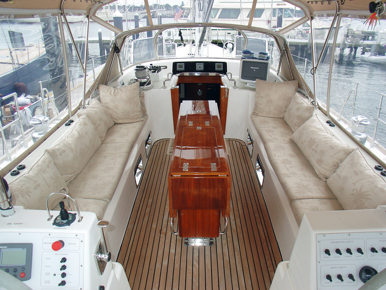 Hylas-70 Centerboard Cruiser 2007-AMANTE Barcelona-Spain-Main Cockpit-1555650   Thumbnail