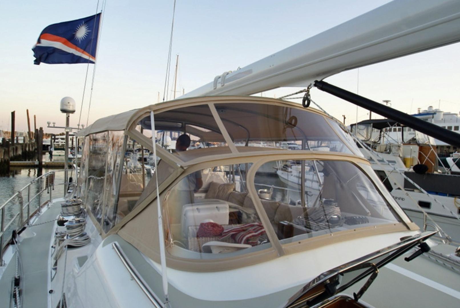 Hylas-70 Centerboard Cruiser 2007-AMANTE Barcelona-Spain-Cockpit Enclosure-1555637   Thumbnail