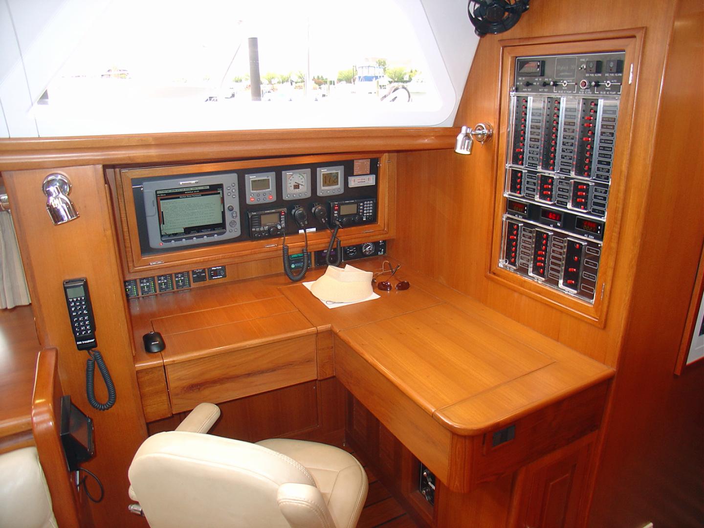 Hylas-70 Centerboard Cruiser 2007-AMANTE Barcelona-Spain-Nav Station-1555651   Thumbnail