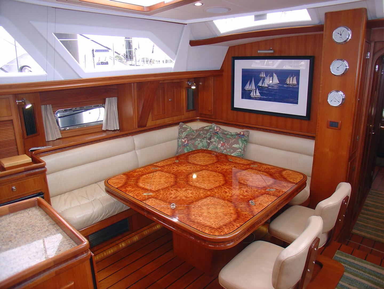 Hylas-70 Centerboard Cruiser 2007-AMANTE Barcelona-Spain-Port Salon Table, Open-1555661   Thumbnail