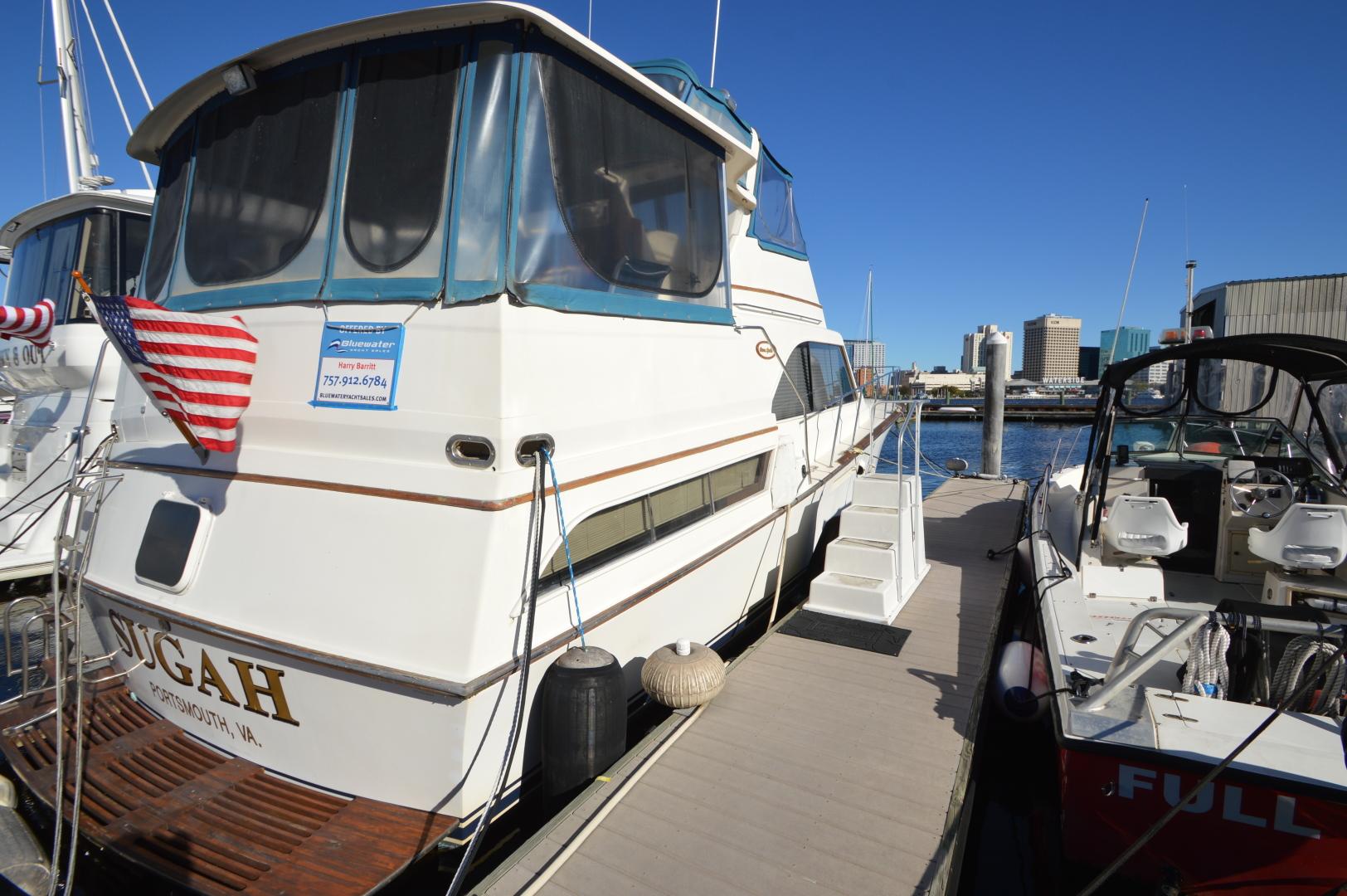 Ocean Yachts-46 Sunliner 1986-Sugah Portsmouth-Virginia-United States-1555481 | Thumbnail