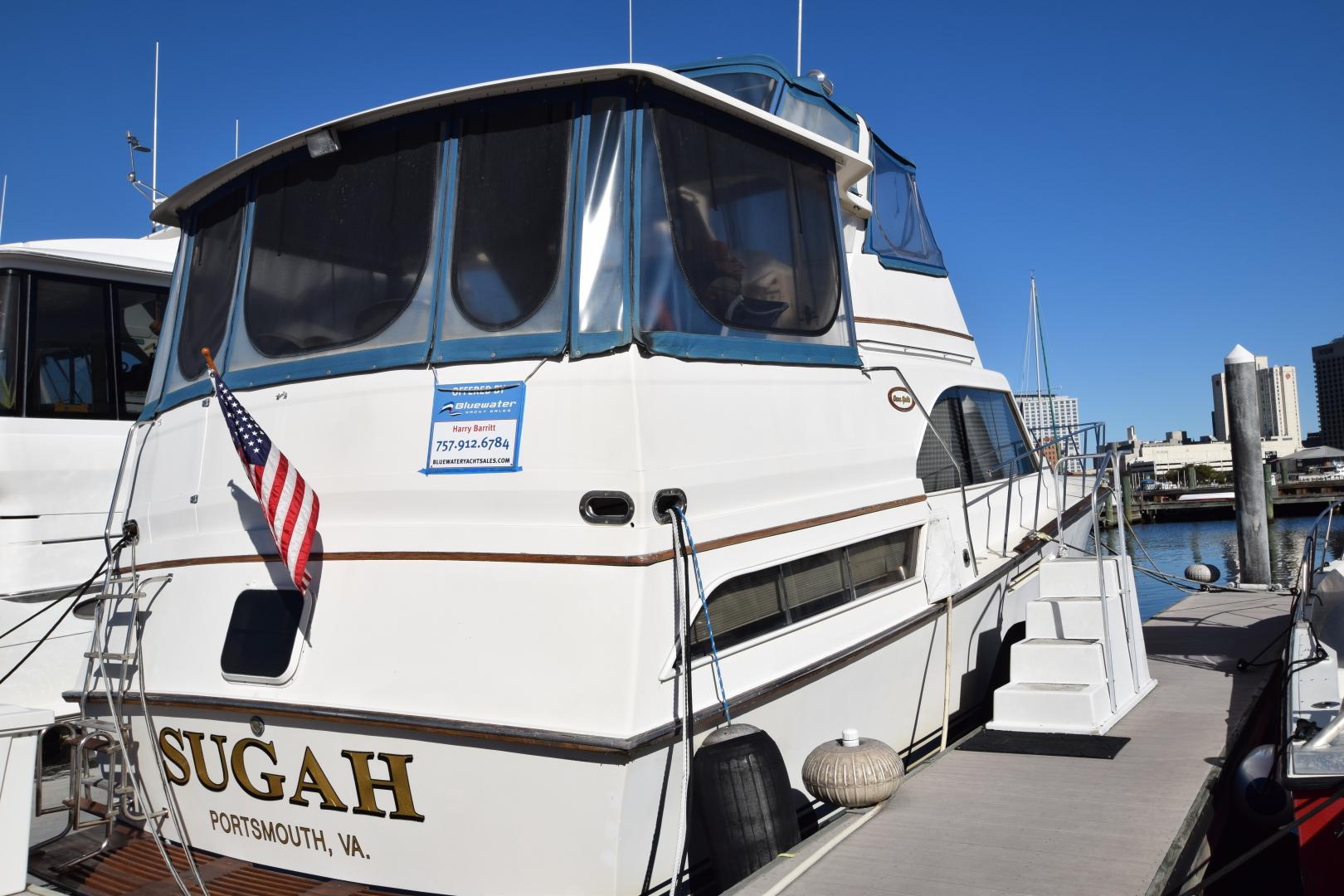Ocean Yachts-46 Sunliner 1986-Sugah Portsmouth-Virginia-United States-1555552 | Thumbnail